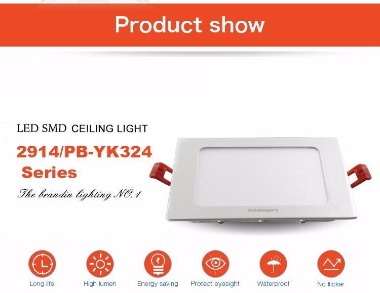 Best quality CE RoHS LED aluminium alloy led SMD panel light