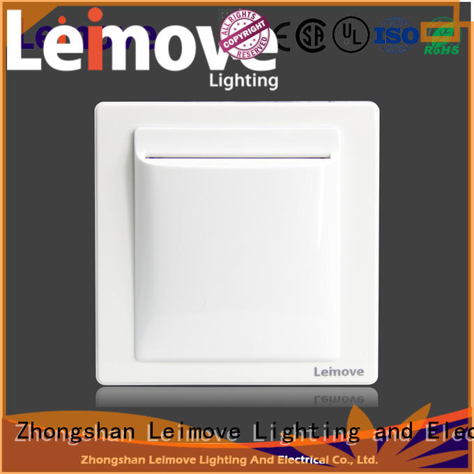 flame retardant electric switch shock resistance simple structure for wholesale