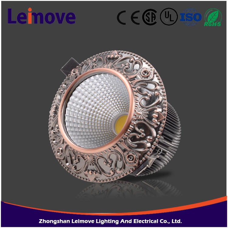 Guangdong factory Spring Clip Mount retrofit led ceiling light