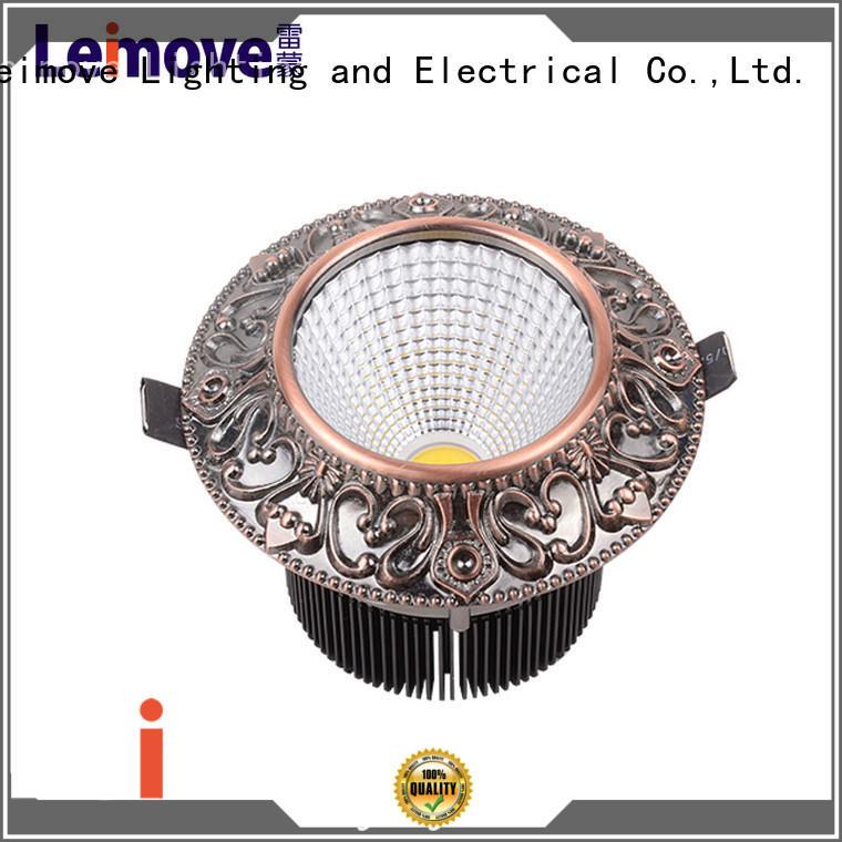Leimove energy-saving outdoor led downlights custom made for customization
