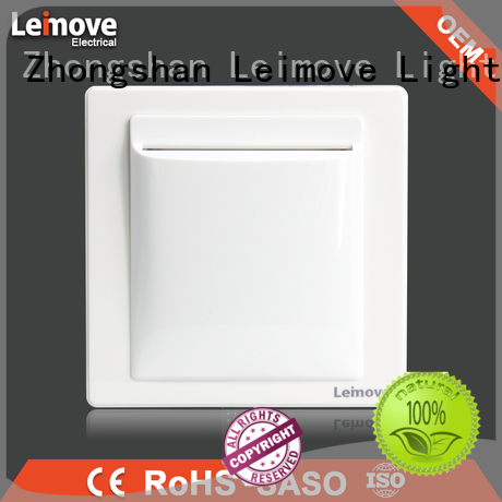 Leimove shock resistance electric switch simple structure for wholesale
