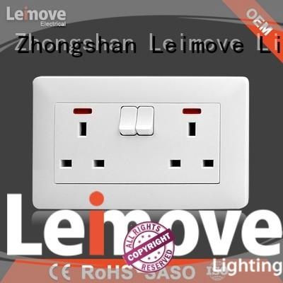 Leimove top selling plug socket easy cleaning by bulk