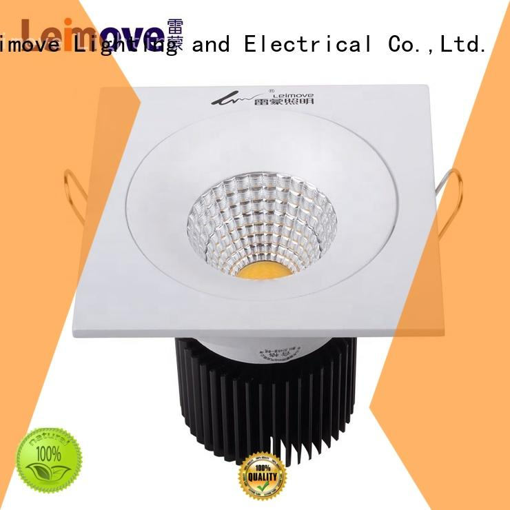 Leimove recessed slim led downlights surface mounted for sale