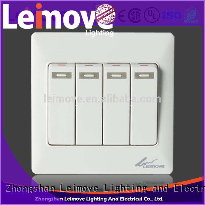 Leimove higher impact resistance electric switch easy assembly for wholesale
