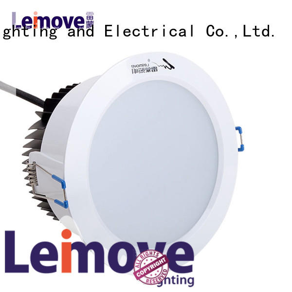 Leimove commercial illumination adjustable led downlights surface mounted for customization