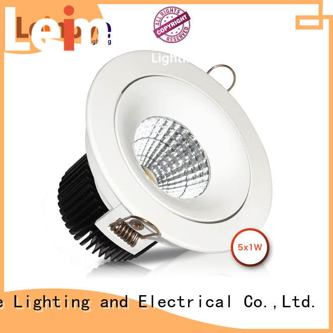 Leimove anti-dazzling outdoor led downlights custom made for sale