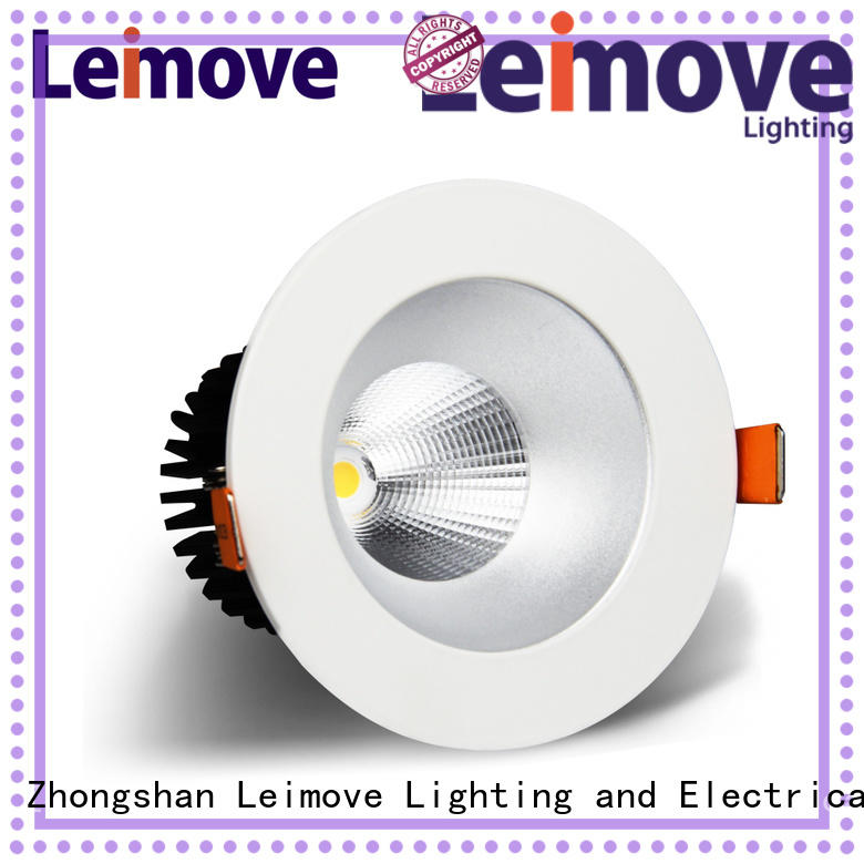 Leimove recessed dimmable led downlights surface mounted for sale