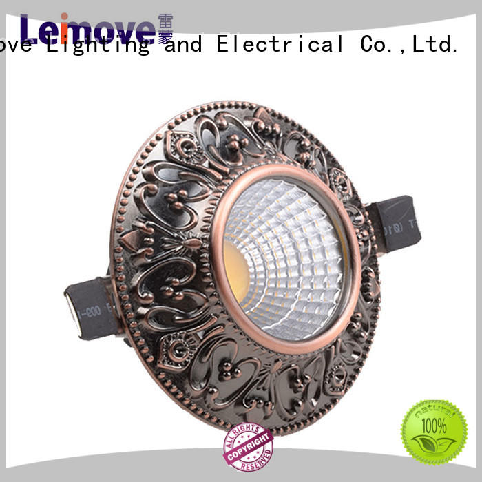 years warranty led recessed downlights round white milky for customization