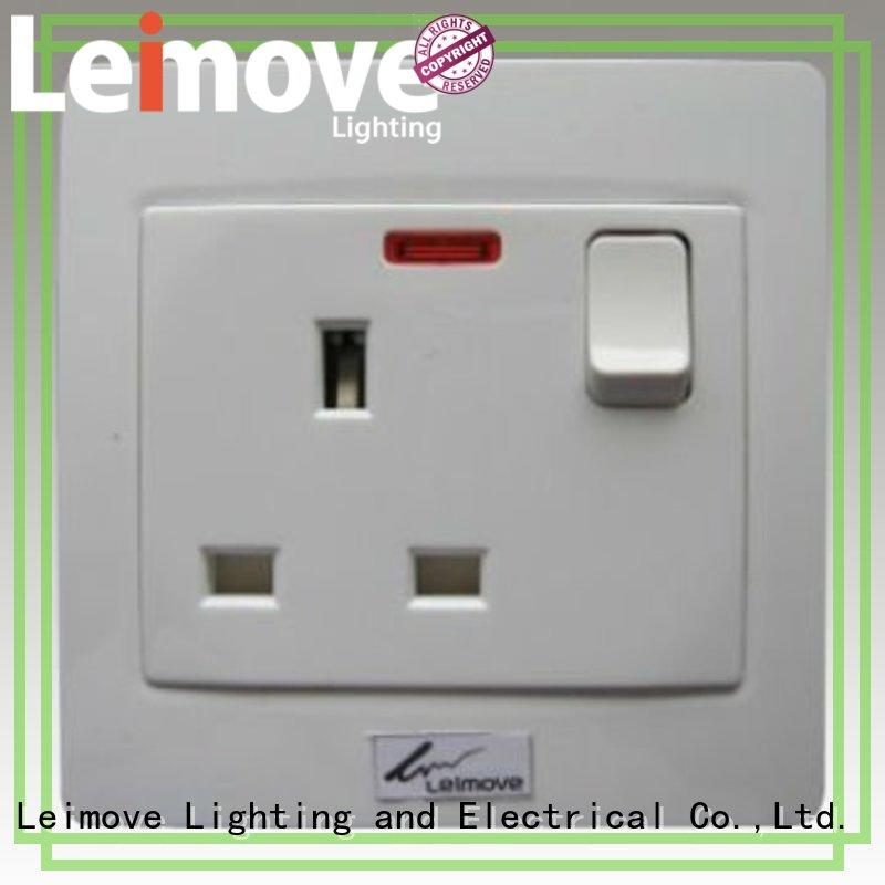 Leimove shock resistance electric switch simple structure for light