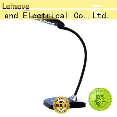 Leimove brown best led desk lamp high-quality for wholesale