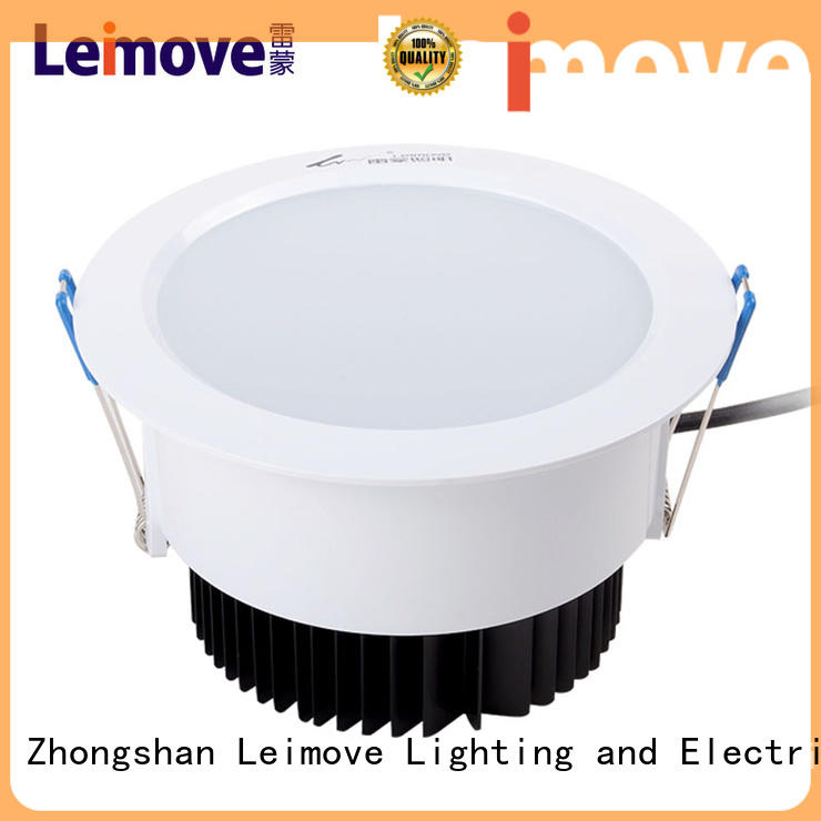 commercial illumination bathroom led downlights round surface mounted for customization