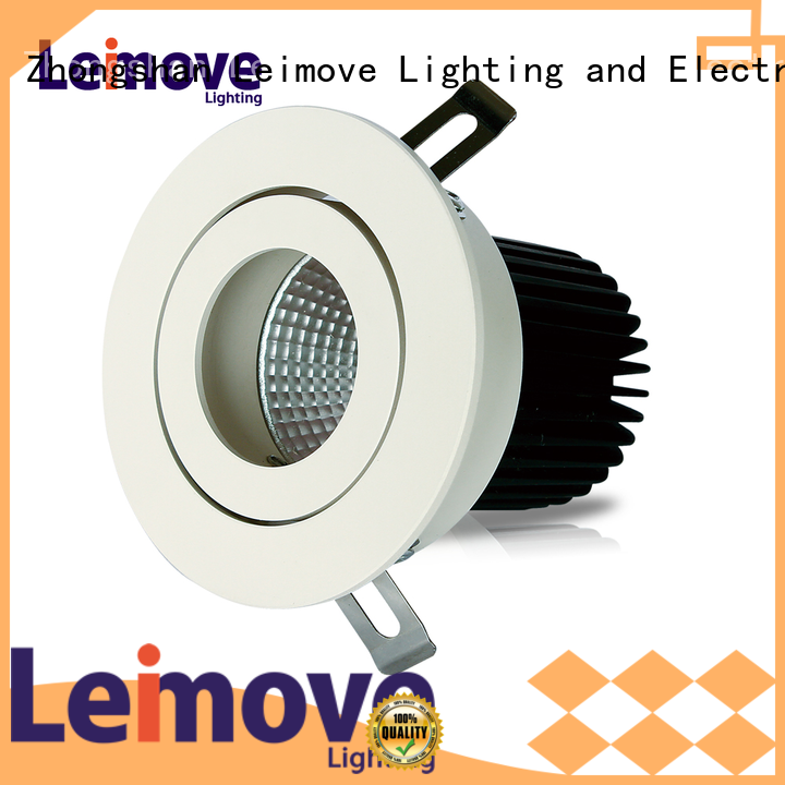 Leimove copper spot lights led recessed for sale