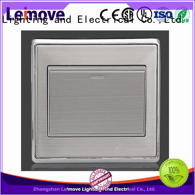 Leimove higher impact resistance electric switch easy assembly for light