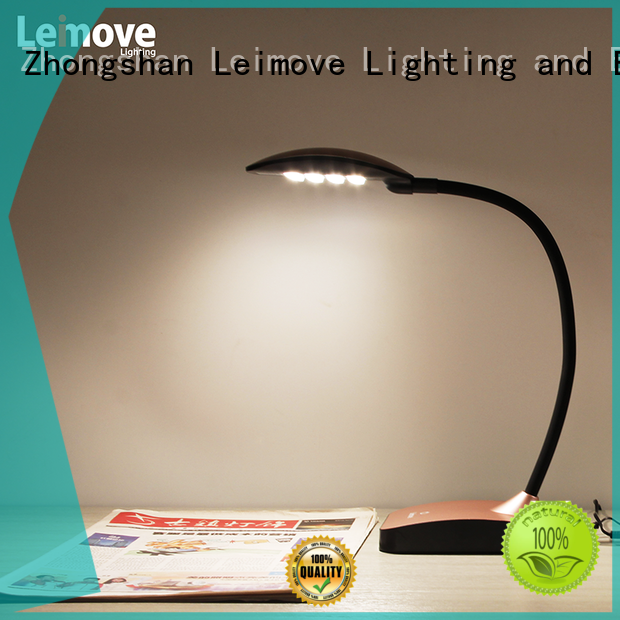 Leimove blue led table lamp by bulk for wholesale