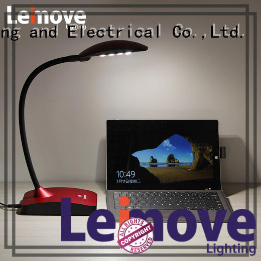 Leimove rose gold dimmable led desk lamp bulk production for sale