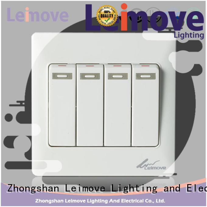 Leimove higher impact resistance electric switch simple structure for light