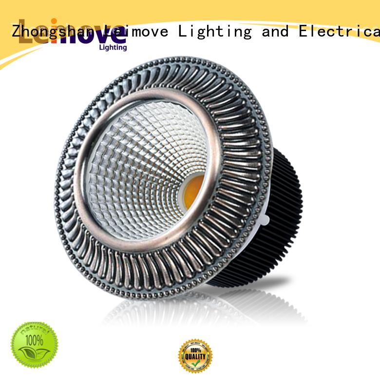 Leimove energy-saving slim led downlights white milky for customization