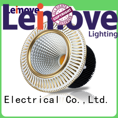 Leimove recessed adjustable led downlights white milky for wholesale