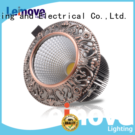 commercial illumination bathroom led downlights anti-dazzling white milky for customization