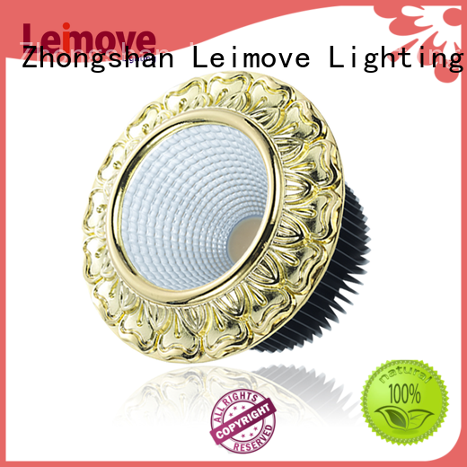 energy-saving dimmable led spotlights round shape recessed for decoration