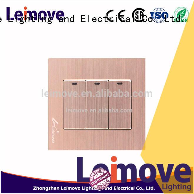 Leimove contact resistance plug socket simple structure bulk production