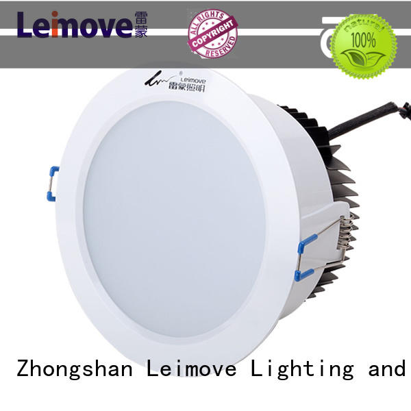 commercial illumination bathroom led downlights round custom made for wholesale