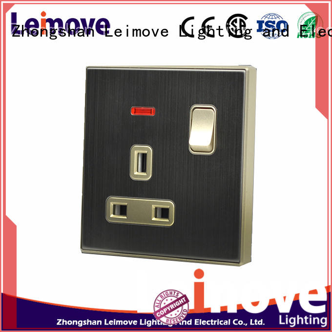 Leimove OEM plug socket by bulk
