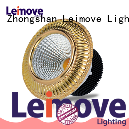 Leimove energy-saving dimmable led spotlights recessed