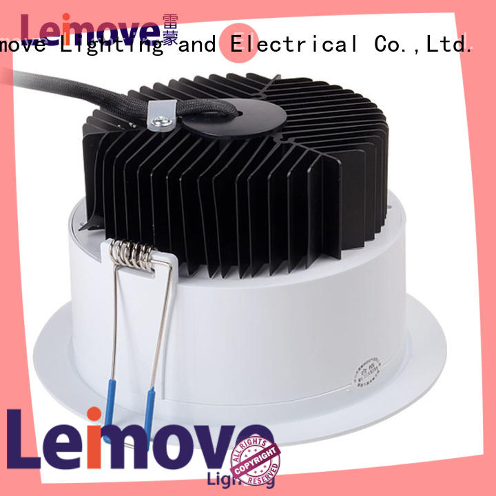 commercial illumination dimmable led downlights round surface mounted for customization