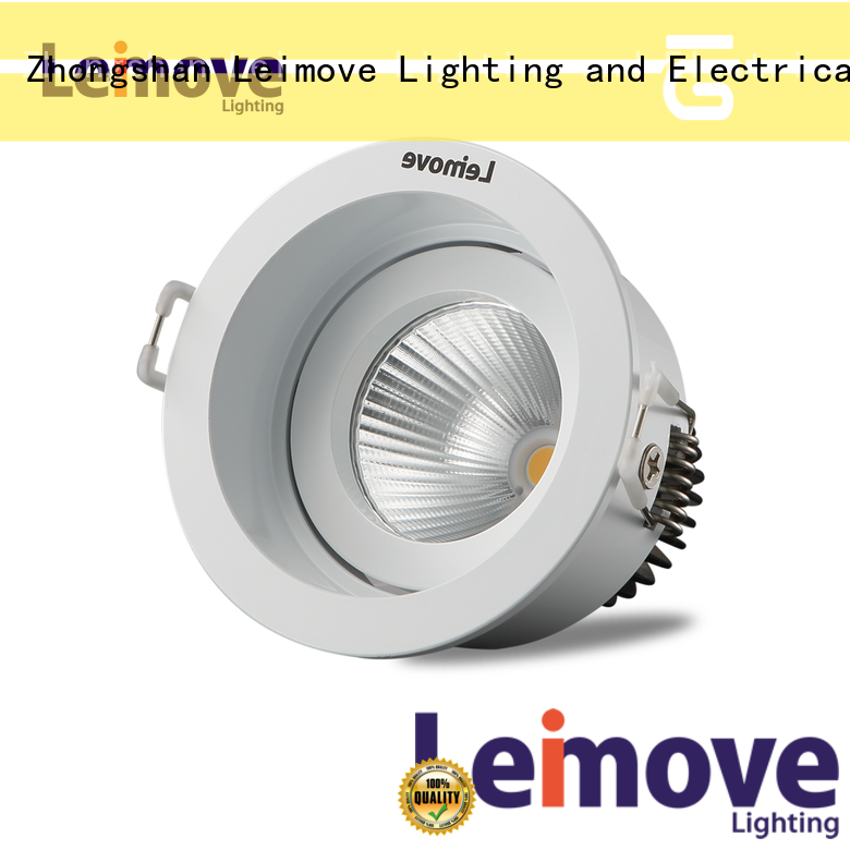 Leimove round slim led downlights custom made for wholesale