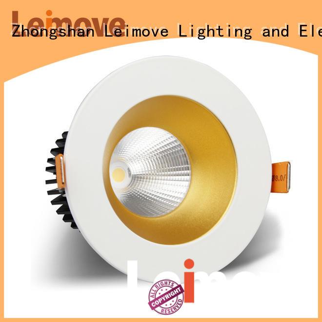 Leimove gold 240v led spotlight bulb recessed for sale