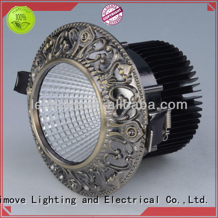 Leimove commercial illumination slim led downlights surface mounted for customization