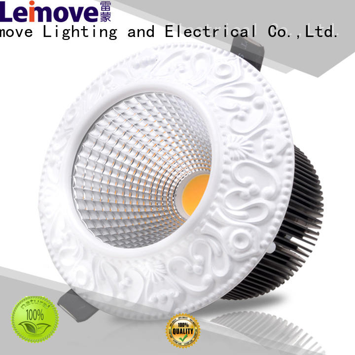 Leimove round shape led spot gu10 recessed