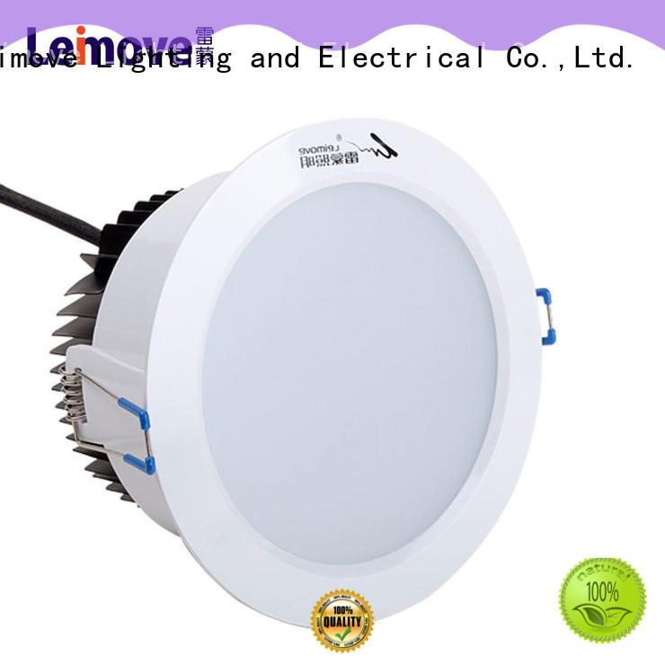 Leimove round led recessed downlights custom made for sale