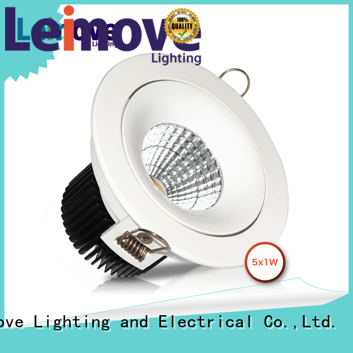 Leimove anti-dazzling bathroom led downlights surface mounted for wholesale