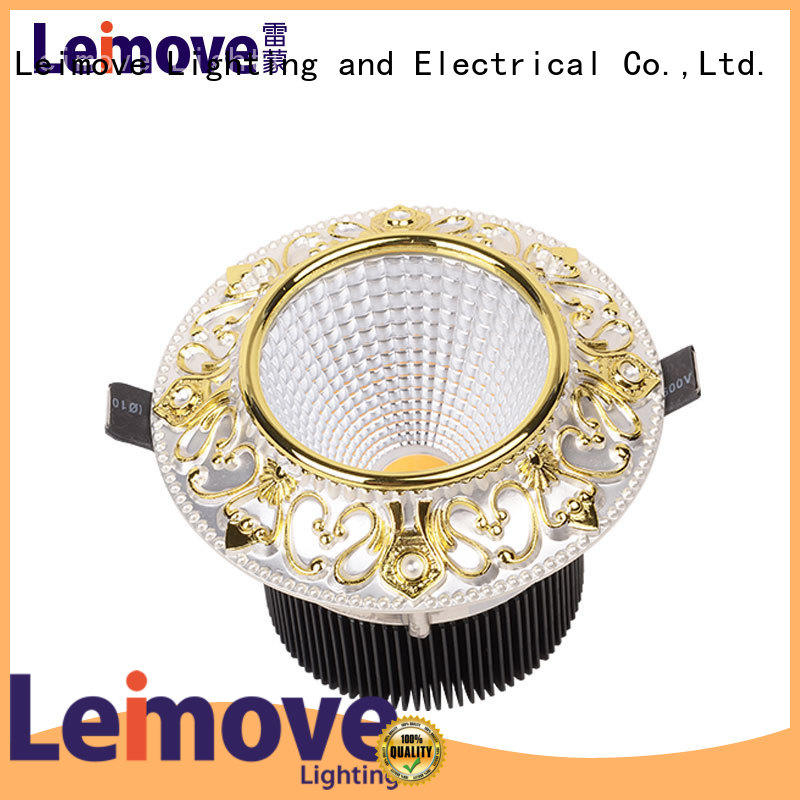 Leimove cob bathroom led downlights surface mounted for customization