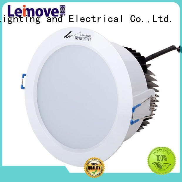 Leimove cob bathroom led downlights white milky for wholesale