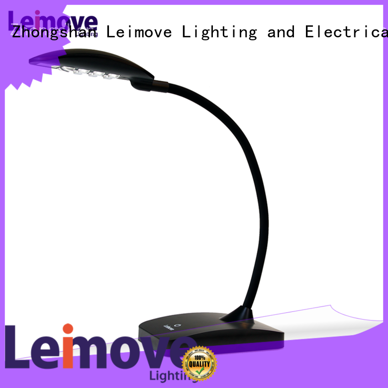 Leimove silver best led desk lamp high-quality for sale