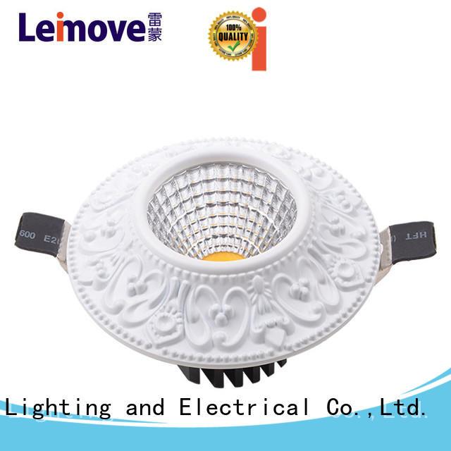 Leimove round shape spotlight led lights ultra bright for decoration