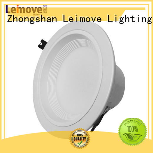 commercial illumination dimmable led downlights anti-dazzling white milky for wholesale