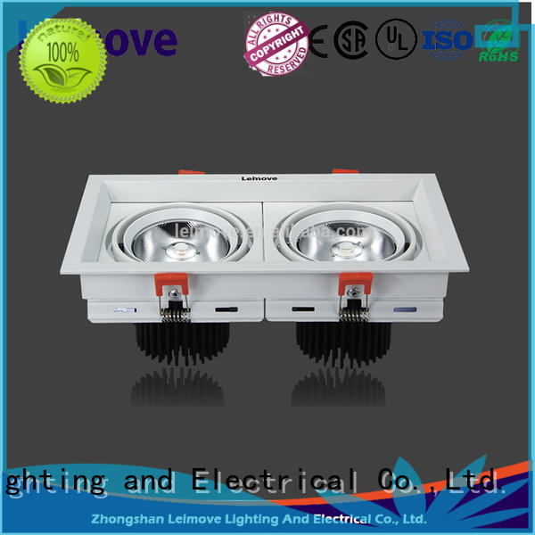 Leimove recessed dimmable led downlights custom made for customization