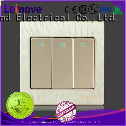 higher impact resistance electric switch high-quality free delivery lighting accessories
