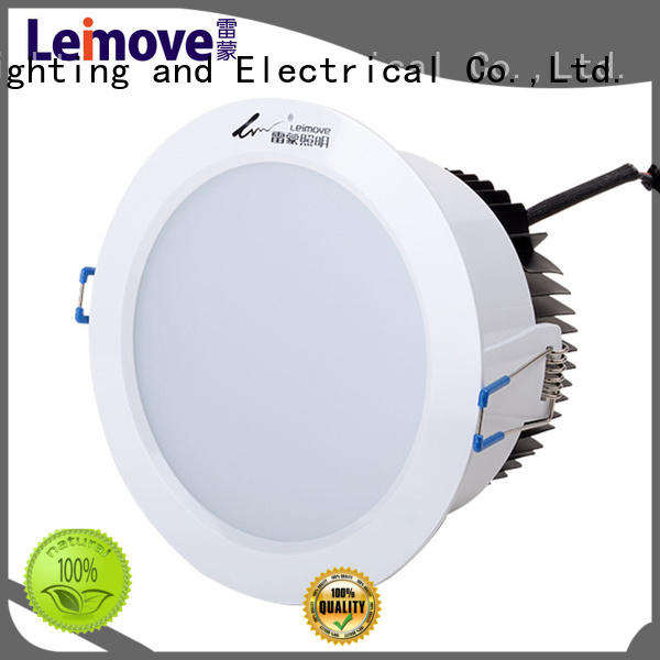 Leimove commercial illumination adjustable led downlights surface mounted for wholesale