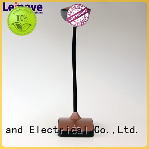 Leimove dimmable best led desk lamp bulk production for sale