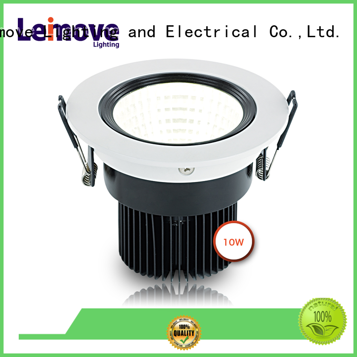 Leimove gold dimmable led spotlight bulbs ultra bright for decoration