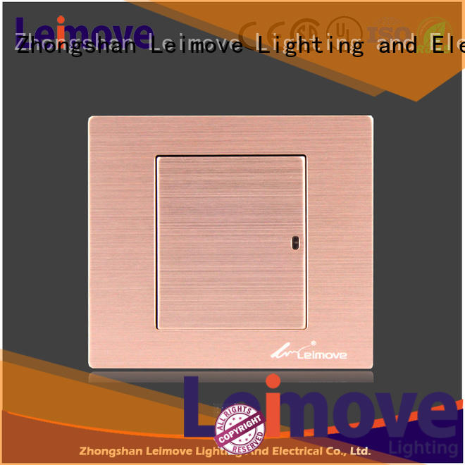 high tensile strength electric switch high-quality easy assembly lighting accessories