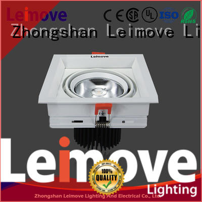 Leimove recessed dimmable led downlights custom made for sale