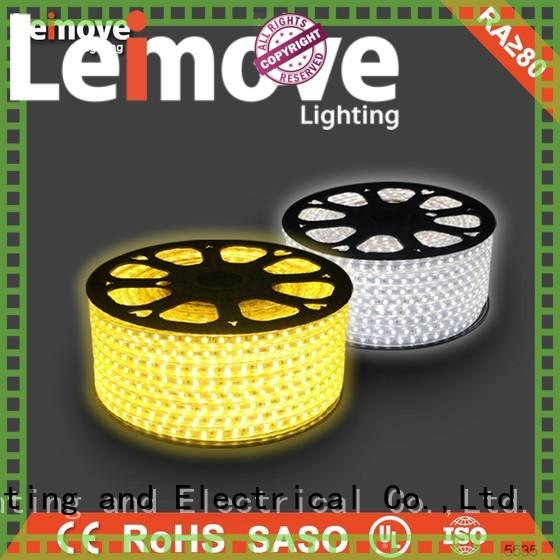 Leimove outdoor best led strip lights energy-saving for customization