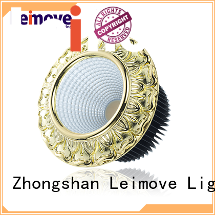 Leimove gold spot led gu10 recessed for wholesale