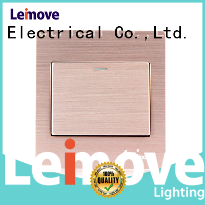 Leimove high tensile strength electric switch easy assembly lighting accessories